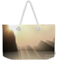 Limestone Sun Rays Ha Long Bay Vietnam Weekender Tote Bag