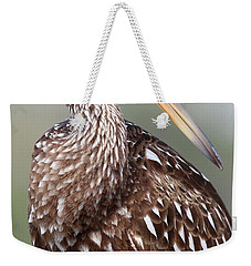 Weekender Tote Bag featuring the photograph Limpkin by Rick Veldman