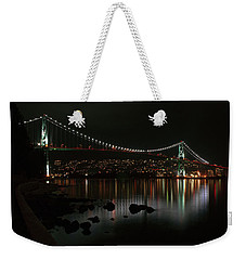 Lions Gate Bridge Weekender Tote Bag