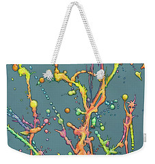 Liquid Rainbow Weekender Tote Bag