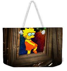 Lisa Steps Out Weekender Tote Bag