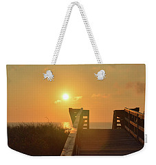 Listen To The Sunrise Weekender Tote Bag