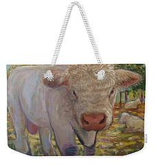 Little Big Bull Weekender Tote Bag