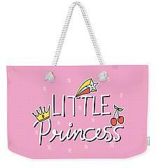 Little Princess - Baby Room Nursery Art Poster Print Weekender Tote Bag