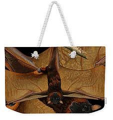 Little Red Flying Fox 2 Weekender Tote Bag