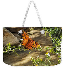 Weekender Tote Bag featuring the photograph Little River Canyon Butterfly  by Rachel Hannah