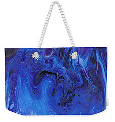 Living Water Abstract Weekender Tote Bag