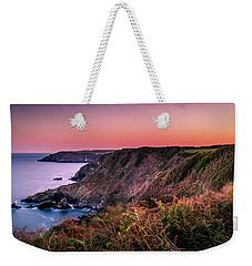 Lizard Point Sunset - Cornwall Weekender Tote Bag