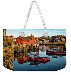 Lobster Traps, Lobster Boats, And Motif #1 Weekender Tote Bag