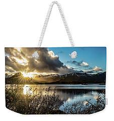 Lofoten Sunset Weekender Tote Bag