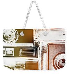 Lomo Light Leaks Weekender Tote Bag