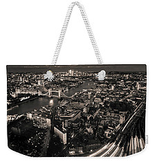 London At Night Weekender Tote Bag