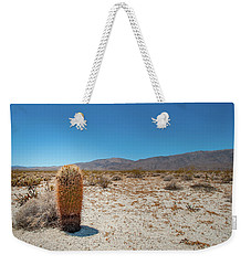 Lone Barrel Cactus Weekender Tote Bag