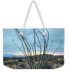 Lone Bush - Sunrise Weekender Tote Bag