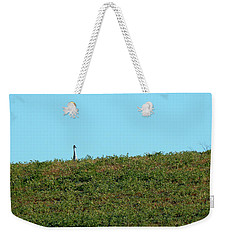 Lonely At The Top Weekender Tote Bag