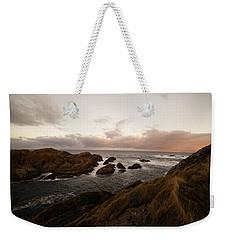 Long Exposure Arctic Weekender Tote Bag