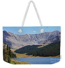 Longs Peak Colorado Weekender Tote Bag