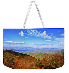 Weekender Tote Bag featuring the photograph Looking Towards Vermont And New Hampshire by Raymond Salani III