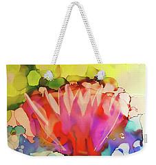 Lotus Zen Weekender Tote Bag