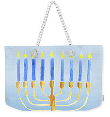Love And Light For Hanukkah Weekender Tote Bag
