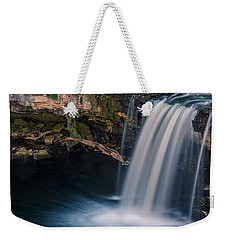 Weekender Tote Bag featuring the photograph Ludlow Falls Ohio by Dan Sproul