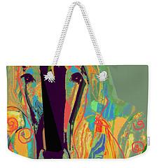 Lungta Windhorse No 6 Weekender Tote Bag