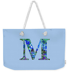 M 2019 Collection Weekender Tote Bag
