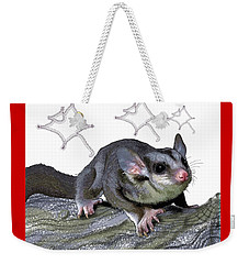 M Is For Mahogany Glider Weekender Tote Bag