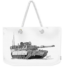 M1a1 A Company 2nd Platoon Weekender Tote Bag