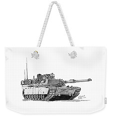 M1a1 D Company 1st Platoon Weekender Tote Bag