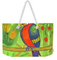 Macaw Parrot In The Wild Weekender Tote Bag