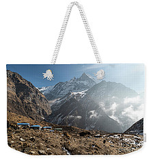 Machhapuchhare Base Camp In Nepal Weekender Tote Bag