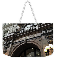 Macys Herald Square Nyc Weekender Tote Bag