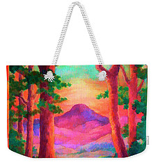 Magenta Morning Weekender Tote Bag