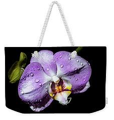 Magenta Phal Weekender Tote Bag
