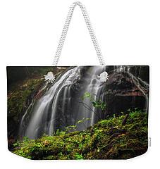 Magical Mystical Mossy Waterfall Weekender Tote Bag