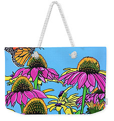 Magnificant Monarch Weekender Tote Bag