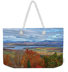 Maine Fall Colors Weekender Tote Bag