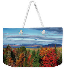 Maine Fall Foliage Weekender Tote Bag
