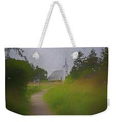 Maine Island Chapel Weekender Tote Bag