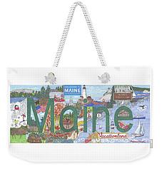 Maine Weekender Tote Bag