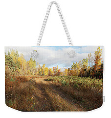 Maine Wilderness Color Weekender Tote Bag