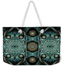 Weekender Tote Bag featuring the digital art Malachi by Missy Gainer