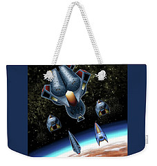 Mangle Approaches Nisip Weekender Tote Bag