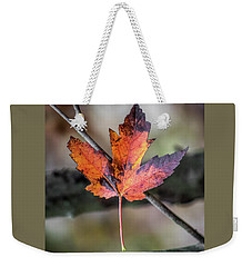 Weekender Tote Bag featuring the photograph Maple 1 by Michael Arend