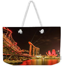 Marina Bay Sands Weekender Tote Bag