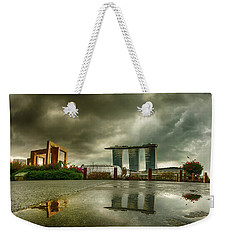 Marina Bay Sands Hotel Weekender Tote Bag