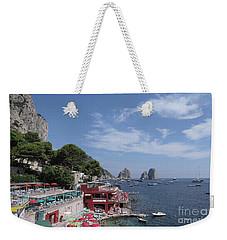 Marina Piccola Beach Weekender Tote Bag