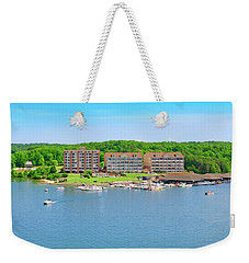 Mariners Landing Poker Run Weekender Tote Bag