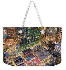 Market Square From Above  Weekender Tote Bag